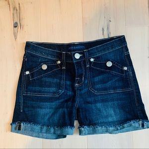 ROCK & REPUBLIC~womens Stinger jean shorts size 6